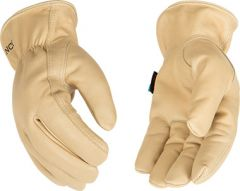 Hydroflector Lined Water-Resistant Grain Cowhide Driver