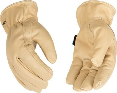 HydroFlector™ Lined Water-Resistant Grain Cowhide Driver