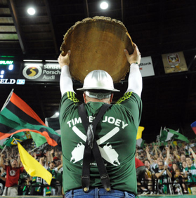 Image of Timber Joey from Portland Timbers